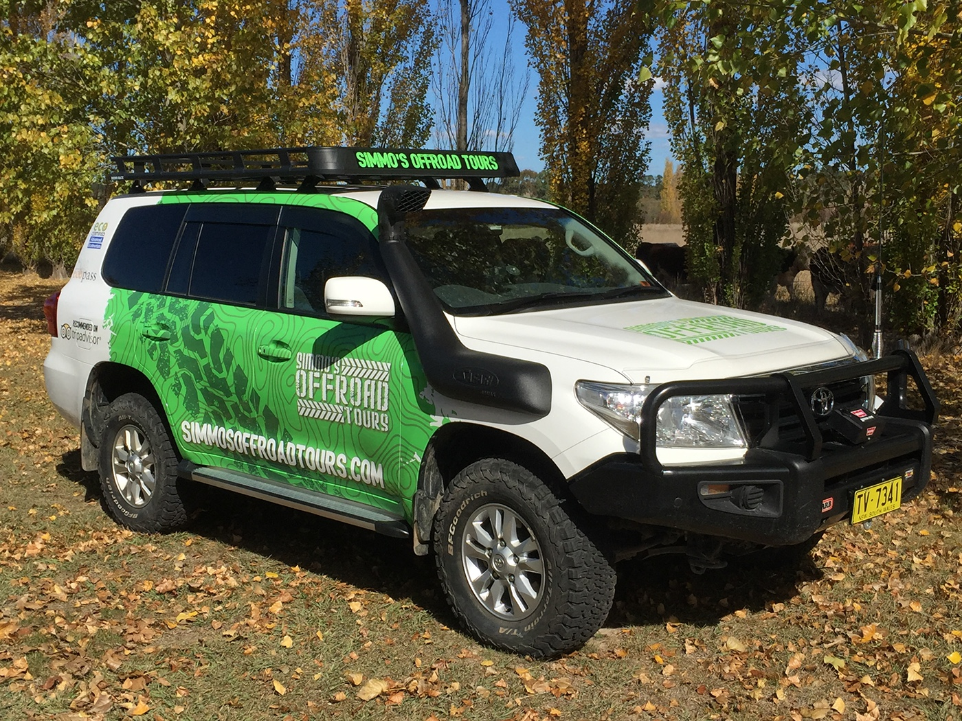 Vehicle wrap - Front