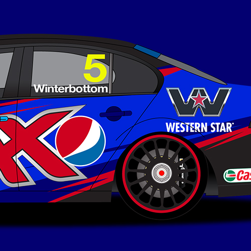 Supercars Livery Designs