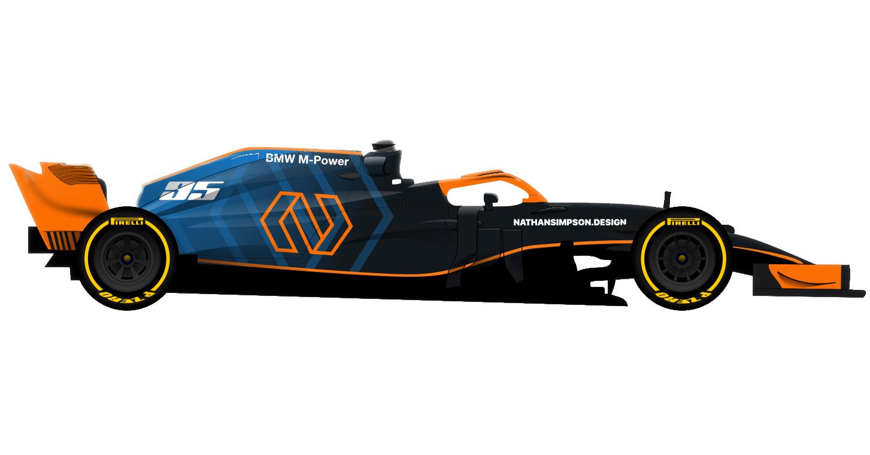 Self-branded Formula 1 car (1)