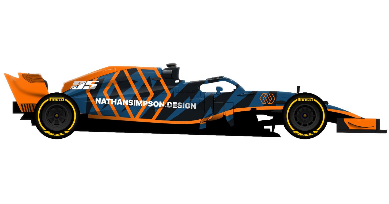 Self-branded Formula 1 car (2)