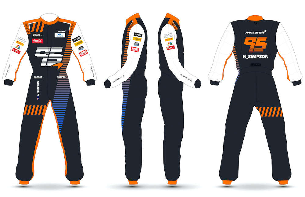 McLaren Overalls Design Competition Entry